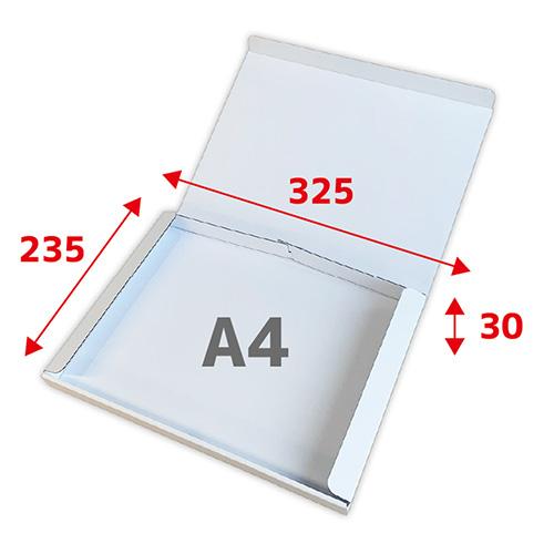 A4-30(N式)ケース両面白[宅配60サイズ]